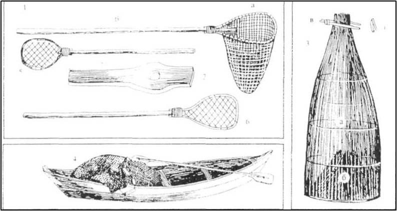 сак для ловли рыбы своими руками